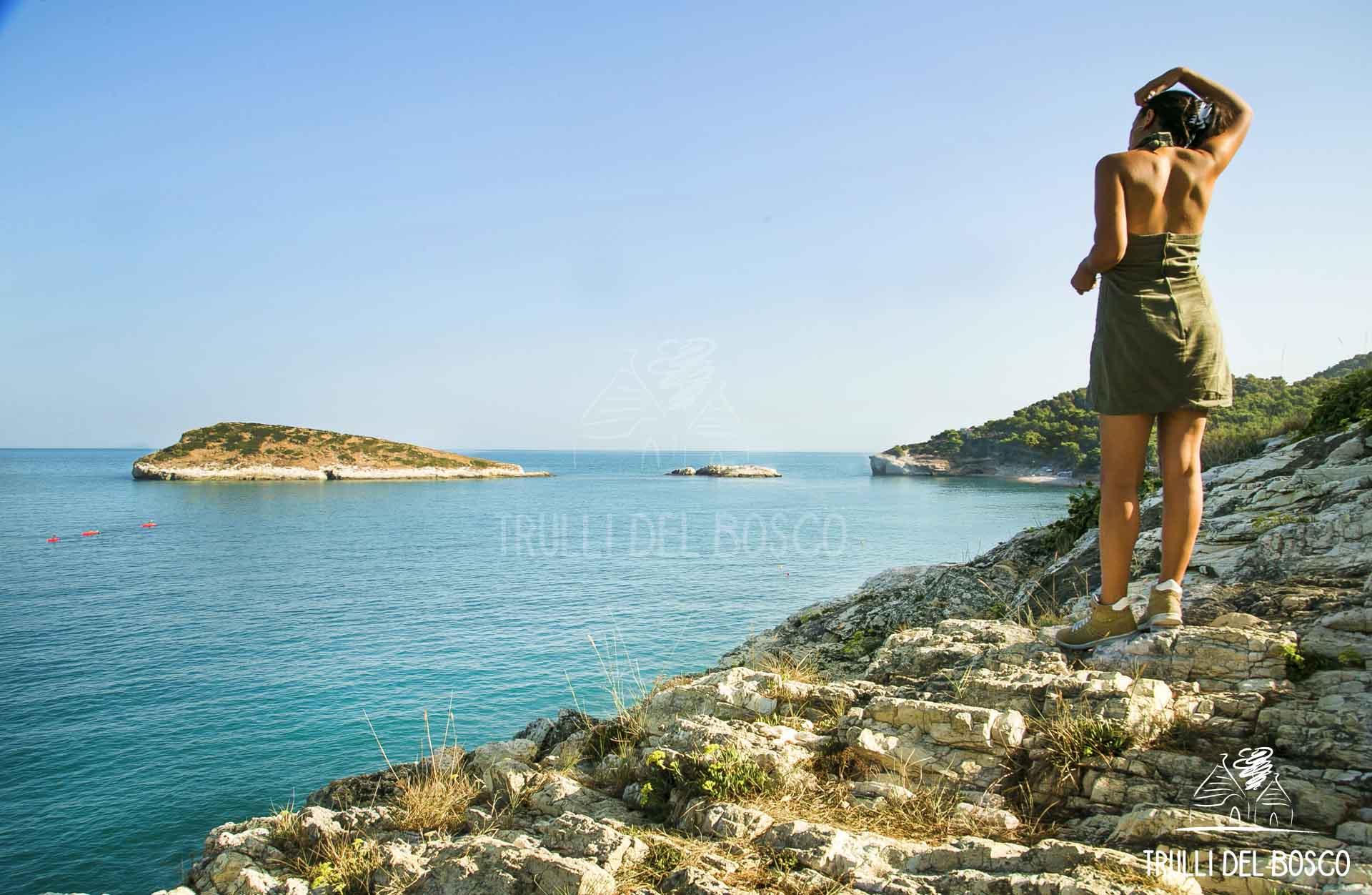Puglia mare ragazza