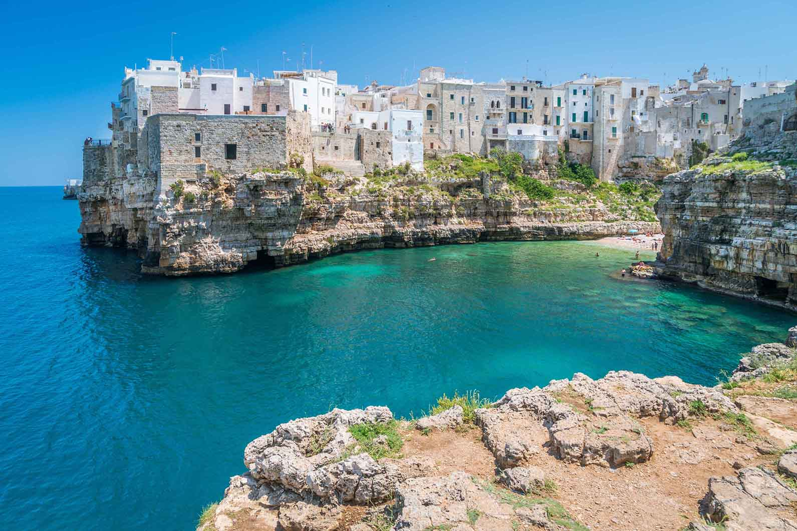 language holiday in Italy for adults